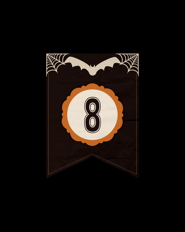 numeros dark halloween 8