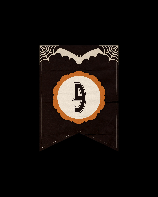 numeros dark halloween 9